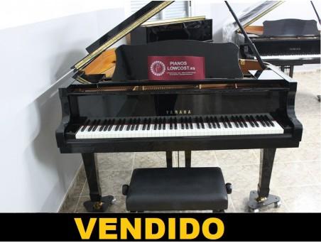 Piano cola Yamaha C3. 186cm. Nº serie 5.500.000. Negro. TRANSPORTE GRATUITO.