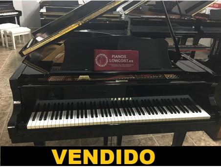 Piano cola Yamaha G2. 170cm. Nº serie 2.865.000. Negro. TRANSPORTE GRATUITO.