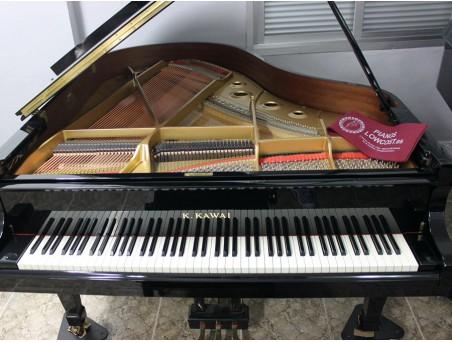 Piano cola Kawai RX2. 178cm. Nº serie 2.458.000. Negro. TRANSPORTE GRATUITO.