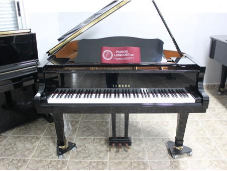 Piano cola Yamaha C2. 173cm. Nº serie 5.894.000. Negro. TRANSPORTE GRATUITO.