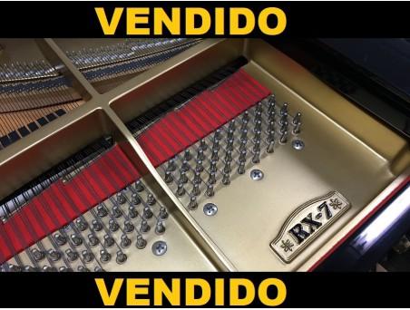 Piano cola Kawai RX7. 227cm. Nº serie 2.380.000. Negro. TRANSPORTE GRATUITO.