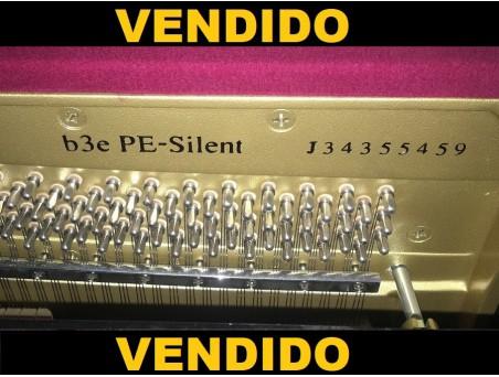 Piano Vertical Yamaha B3. 121cm. Negro. Con silent. TRANSPORTE. GRATUITO.