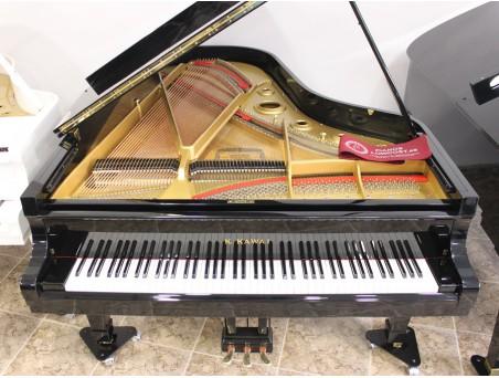 Piano cola KawaI KG5. 200cm. Nº serie 100.000-1.000.000. Negro. TRANSPORTE GRATUITO.