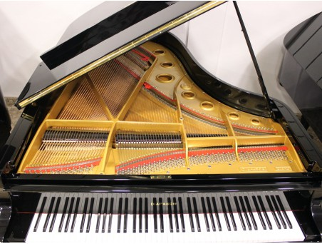 Piano cola DIAPASON-KAWAI. 210cm. Nº serie 10.000-100.000. Negro. TRANSPORTE GRATUITO.