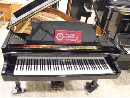 Piano cola KawaI KG3. 186cm. Nº serie 500.000-1.000.000. Negro. TRANSPORTE GRATUITO.
