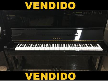 Piano Vertical Yamaha MX100II con Disklavier. Nº Serie 5.447.000. Negro. 121cm. TRANSP. GRATUITO.