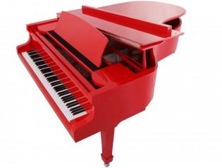 PIANO COLA ROJO PIANOSLOWCOST.ES