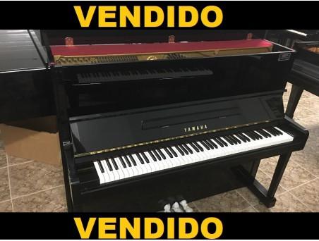 Piano Vertical Yamaha U10BL. Nº Serie 4.700.000 Revisado. 121cm. TRANSPORTE GRATUITO.