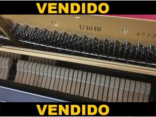 PIANO YAMAHA U10BL OCASION PIANOS LOW COST.ES reestreno