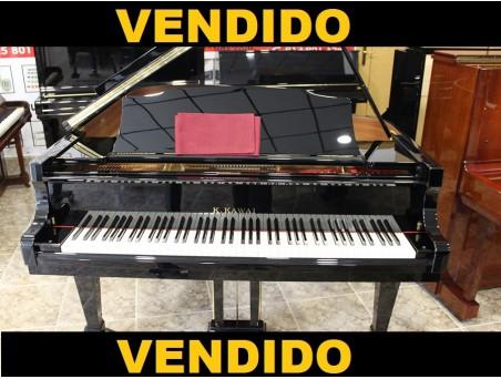 Piano cola Kawai RX1. 164cm. Nº serie 2.300.000. Negro. TRANSPORTE GRATUITO.