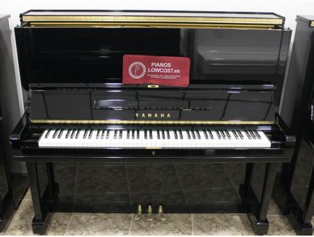 Piano Vertical Yamaha U1, U1H. Nº Serie 2.000.000-3.100.000. Negro. 121cm. TRANSPORTE GRATUITO.