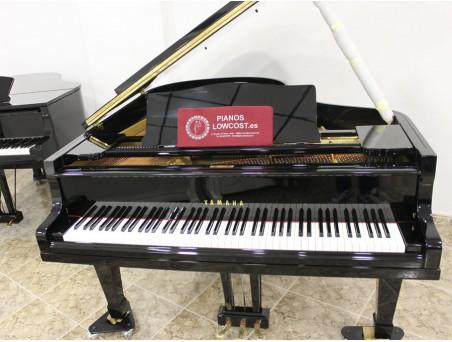 Piano cola Yamaha G2. 170cm. Nº serie 50.000-100.000. Negro. TRANSPORTE GRATUITO.