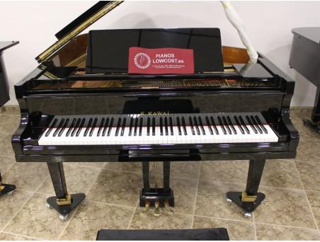 Piano cola Kawai no500. 170cm. Nº serie 100.000-500.000. Negro. TRANSPORTE GRATUITO.