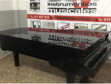 Piano cola KawaI KG6. 212cm. Nº serie 500.000-1.000.000. Negro. TRANSPORTE GRATUITO.