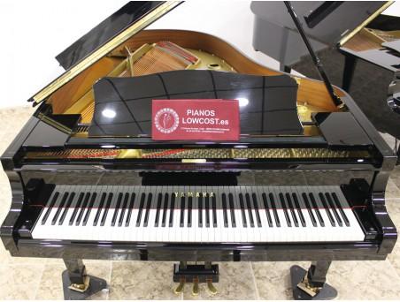 Piano cola Yamaha C3. 186cm. Nº serie 5.100.000. Negro. TRANSPORTE GRATUITO.