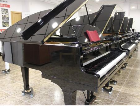 Piano cola Yamaha G2. 170cm. Nº serie 1.000.000-1.500.000. Negro. TRANSPORTE GRATUITO.