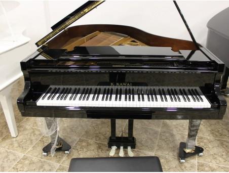 Piano cola KawaI KG2. 178cm. Nº serie 1.000.000-1.500.000. Negro. TRANSPORTE GRATUITO.