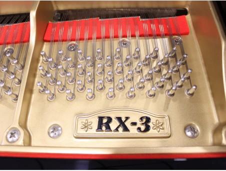 Piano cola Kawai RX3. 186cm. Nº serie 2.200.000. Negro. TRANSPORTE GRATUITO.