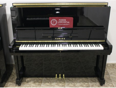 Piano Vertical Yamaha U3, U3D. Nº Serie 200.000-410.000. Negro. 131cm. TRANSPORTE GRATUITO.