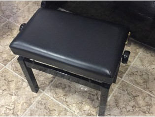 banquete negra regulable en altura pianos low cost.es